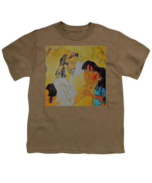 Jesus And The Children Youth T-Shirt