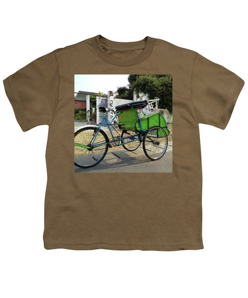 Jogjakarta Rickshaw - Becak Youth T-Shirt