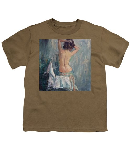Just Joining In #nyaanudetakeover Youth T-Shirt by Jennifer Beaudet