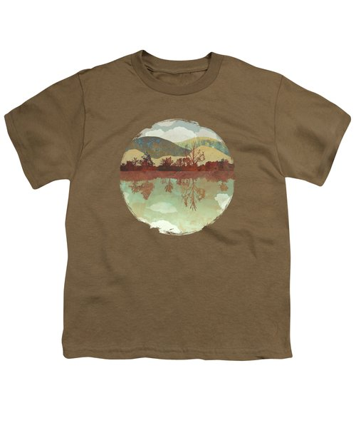 Lake Side Youth T-Shirt by Spacefrog Designs