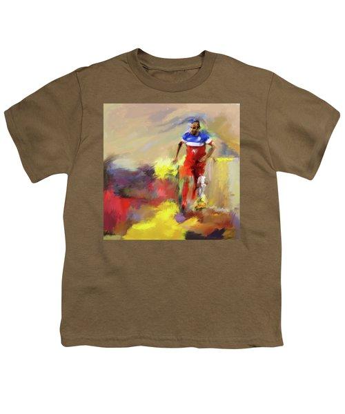 Landon Donovan 545 1 Youth T-Shirt by Mawra Tahreem