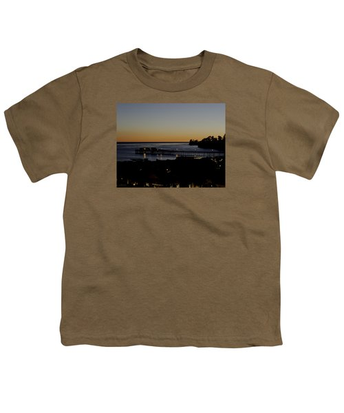 Youth T-Shirt featuring the photograph Last 2015 Sunset by Lora Lee Chapman