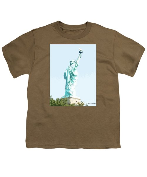 Leap Of Liberty Youth T-Shirt