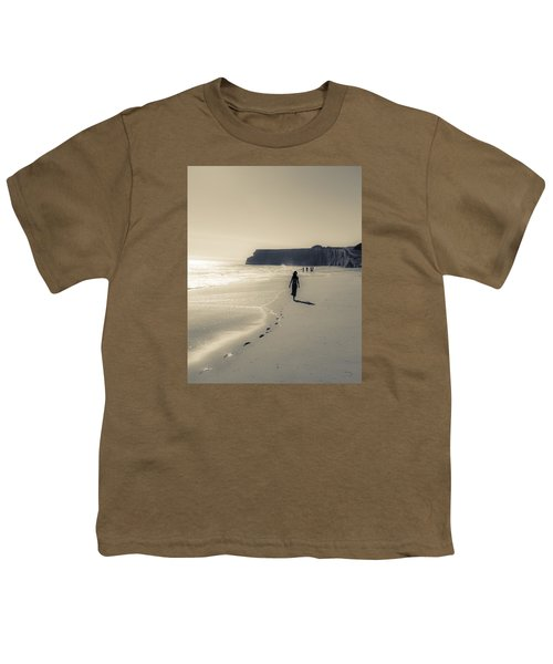 Leave Nothing But Footprints Youth T-Shirt