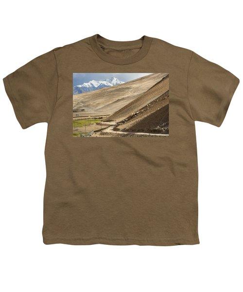 Less Traveled Youth T-Shirt by Hitendra SINKAR