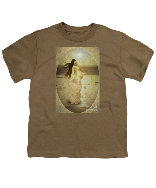 Let Your Soul And Spirit Fly Youth T-Shirt by Linda Lees