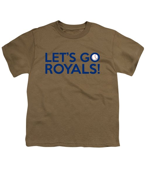 Let's Go Royals Youth T-Shirt