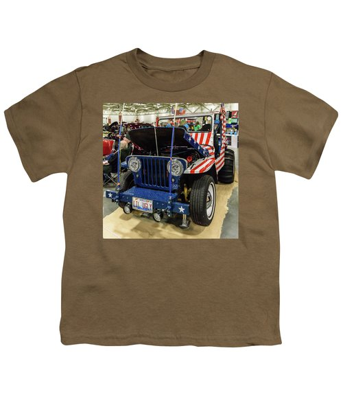 Youth T-Shirt featuring the photograph Lil Ugly by Randy Scherkenbach