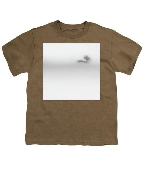 Youth T-Shirt featuring the photograph Lost Island Square by Bill Wakeley