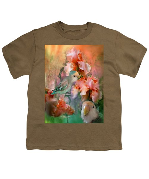 Love Among The Irises Youth T-Shirt