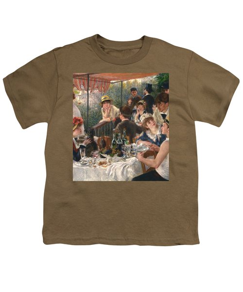 Luncheon Of The Boating Party By Renoir Youth T-Shirt