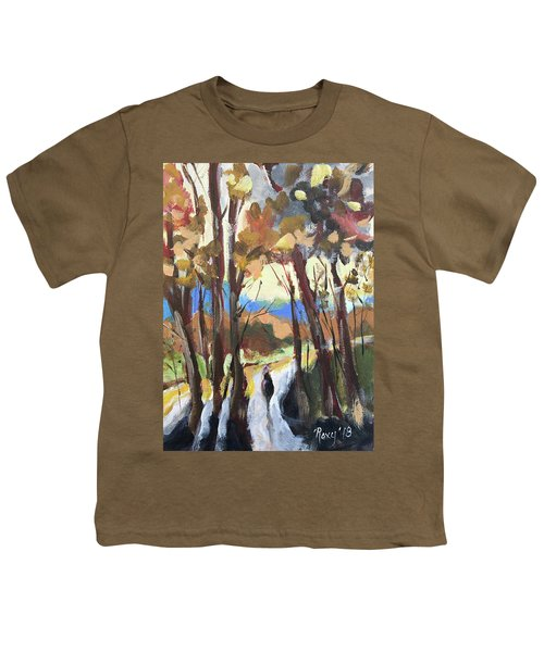 Man In The Woods Youth T-Shirt