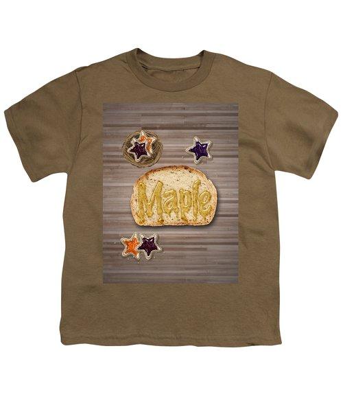 Maple Youth T-Shirt by La Reve Design