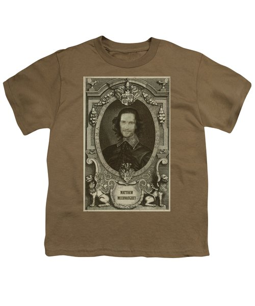 Matthew Mcconaughey   Youth T-Shirt