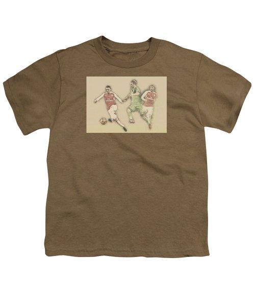 Mesut Ozil Youth T-Shirt by Don Kuing