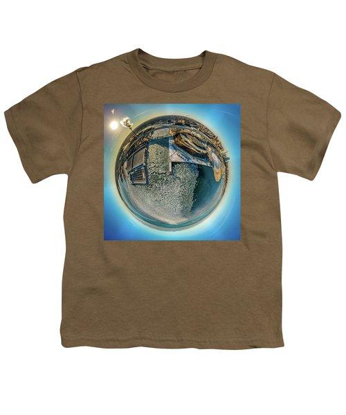 Milwaukee Pierhead Light Little Planet Youth T-Shirt