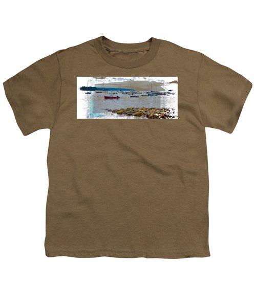 Moorings Mug Shot Youth T-Shirt by John M Bailey
