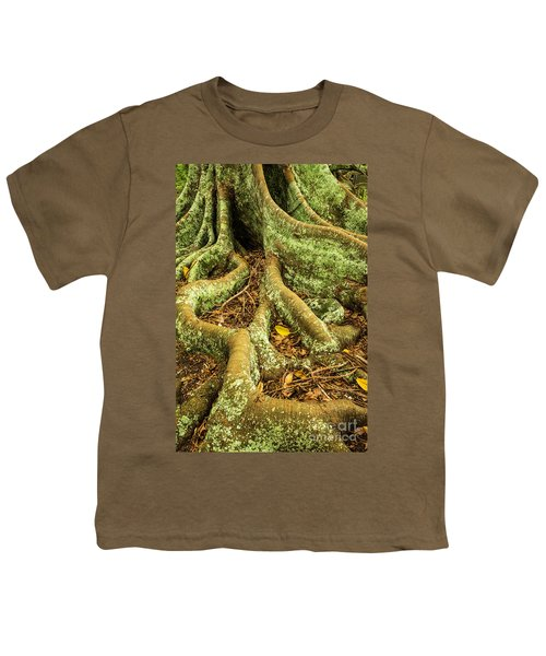 Youth T-Shirt featuring the photograph Moreton Bay Fig by Werner Padarin