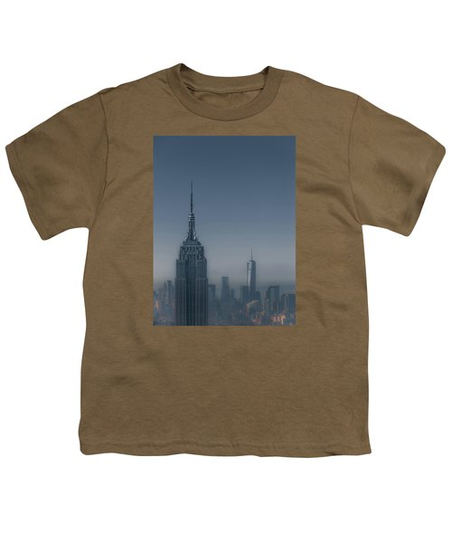 Morning In New York Youth T-Shirt by Chris Fletcher