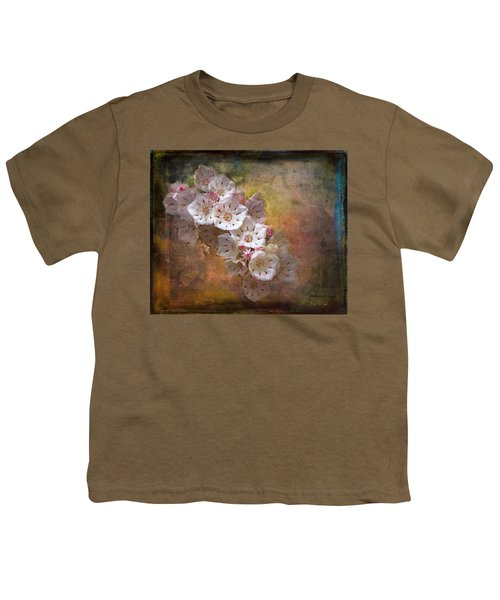 Mountain Laurel Youth T-Shirt by Bellesouth Studio