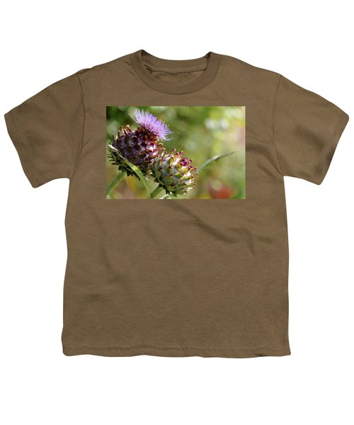 Mr And Mrs Thistle  Youth T-Shirt by Jeremy Lavender Photography