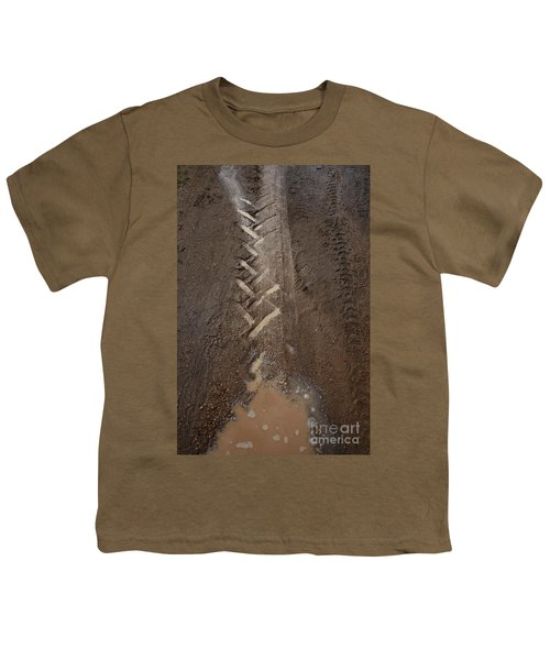 Youth T-Shirt featuring the photograph Mud Escape by Stephen Mitchell