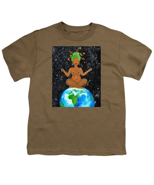 My Own World Youth T-Shirt by Diamin Nicole