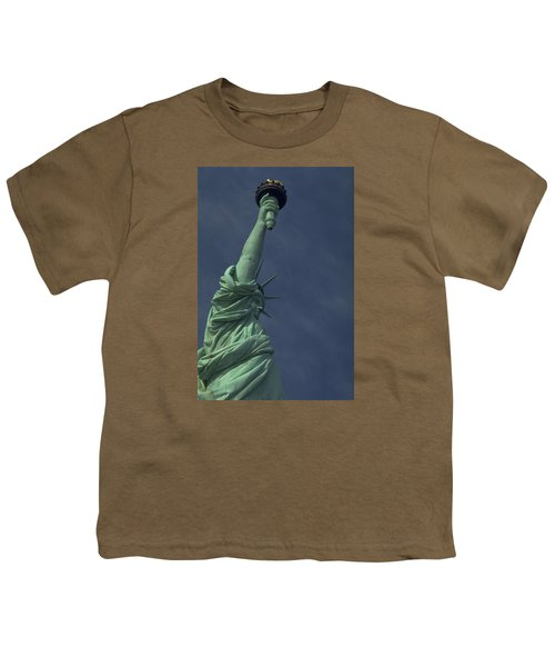 Youth T-Shirt featuring the photograph New York by Travel Pics
