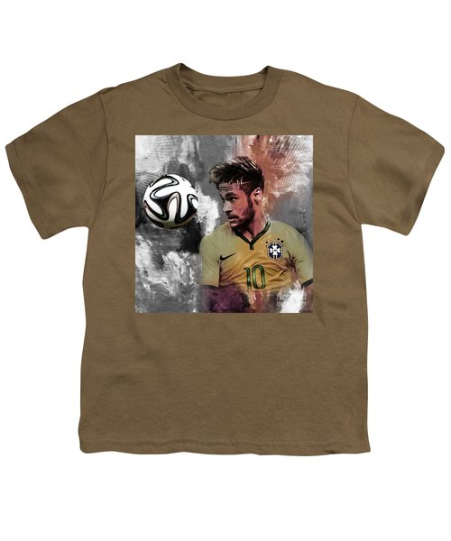 Neymar 051a Youth T-Shirt by Gull G