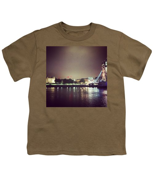 Nighttime In London Youth T-Shirt