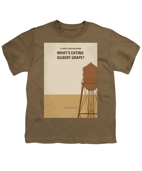No795 My Whats Eating Gilbert Grape Minimal Movie Poster Youth T-Shirt