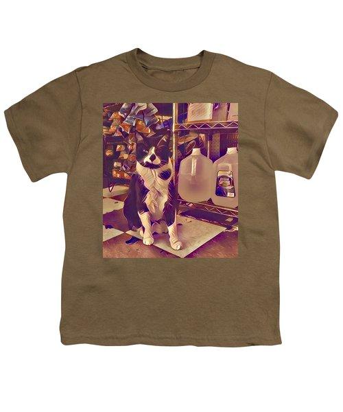Nyc Bodega Cat Youth T-Shirt