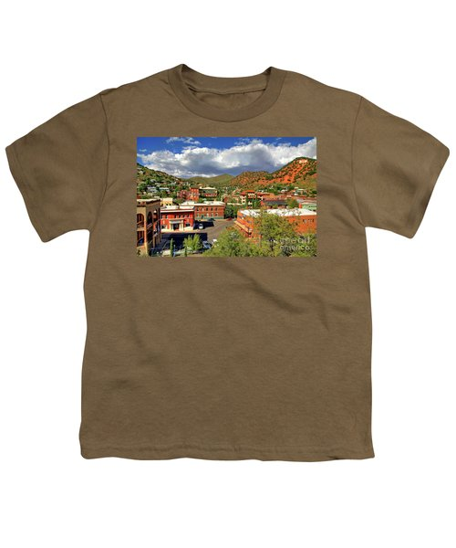 Old Bisbee Arizona Youth T-Shirt