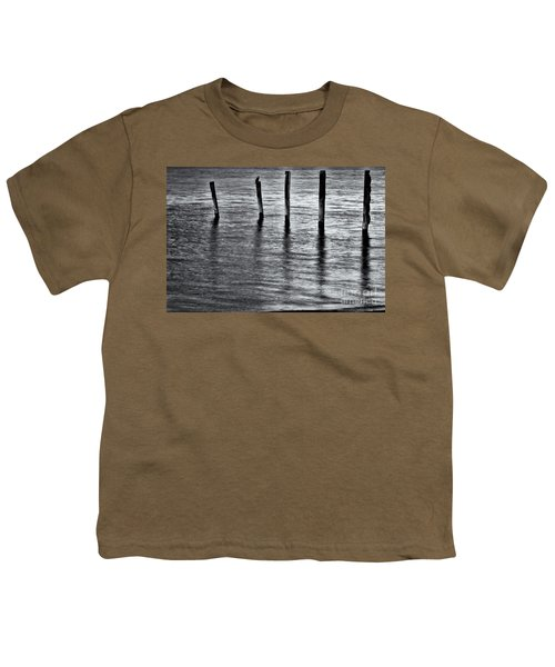 Youth T-Shirt featuring the photograph Old Jetty - S by Werner Padarin