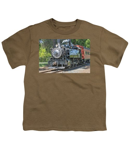 Youth T-Shirt featuring the photograph Old Number 10 by Jim Thompson