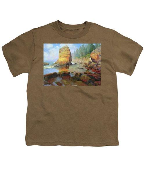 Otter Rock Beach Youth T-Shirt