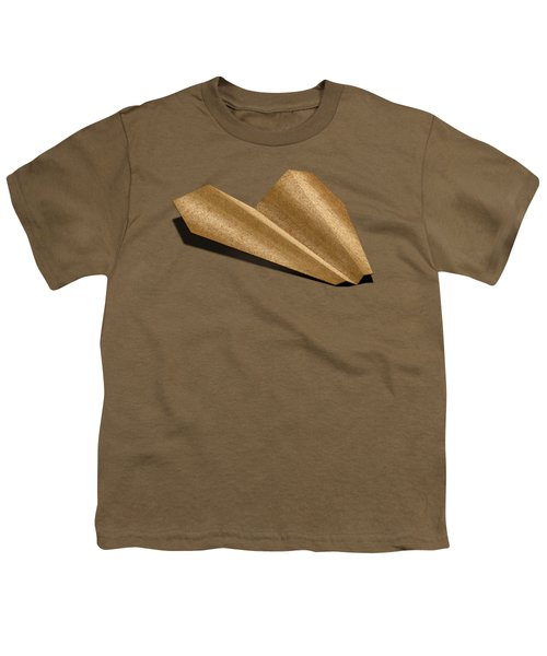 Paper Airplanes Of Wood 6 Youth T-Shirt by YoPedro