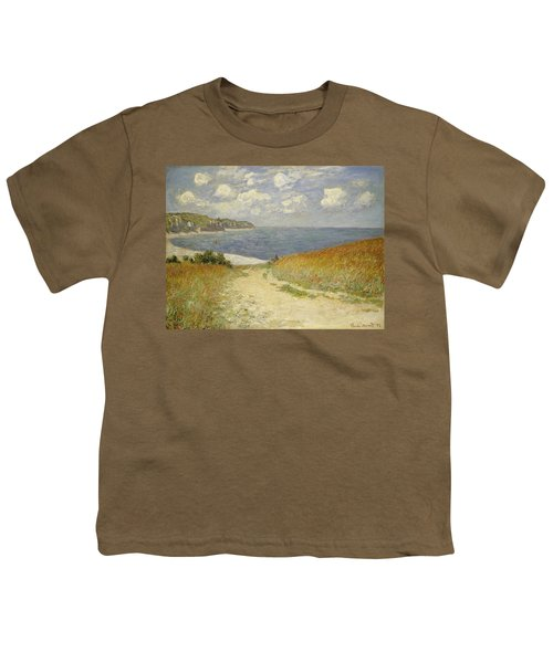 Path In The Wheat At Pourville Youth T-Shirt