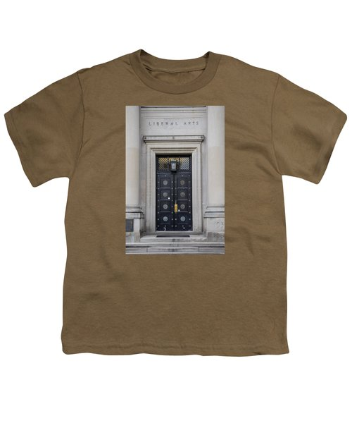 Penn State University Liberal Arts Door  Youth T-Shirt