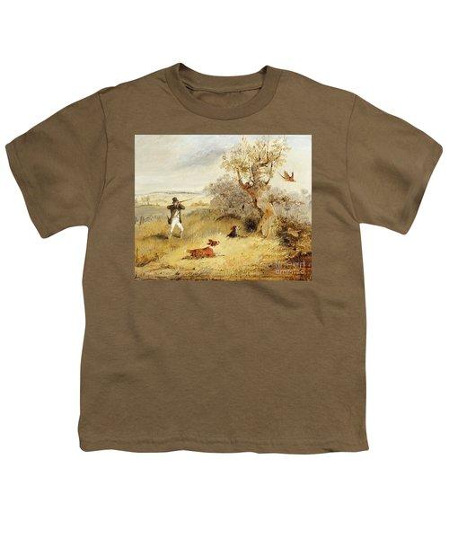 Pheasant Shooting Youth T-Shirt