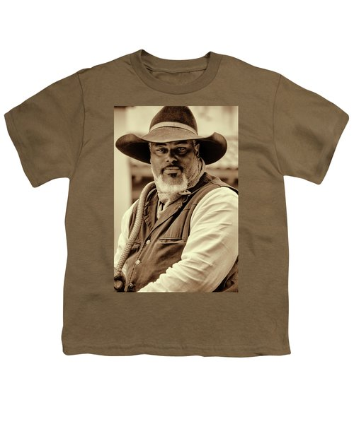 Piercing Eyes Of The Cowboy Youth T-Shirt