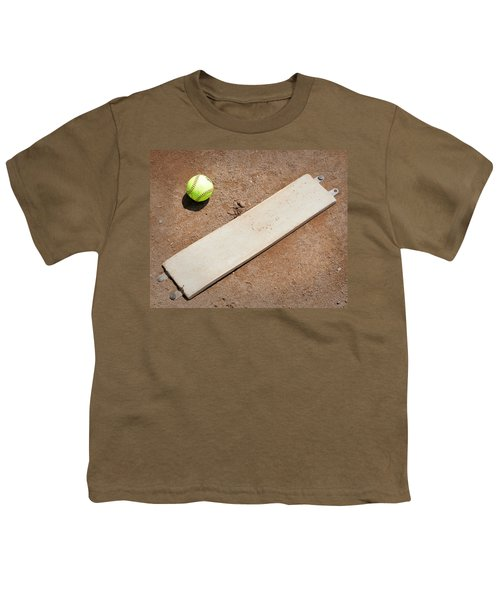 Pitchers Mound Youth T-Shirt by Kelley King