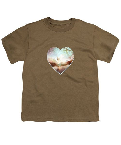 Porcelain Skies Youth T-Shirt by Valerie Anne Kelly