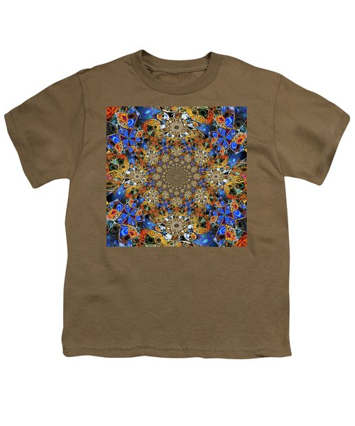 Prismatic Glasswork Youth T-Shirt by Nick Heap
