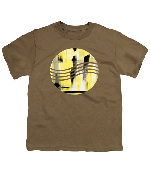 Pure Spirit Abstract Youth T-Shirt by Christina Rollo