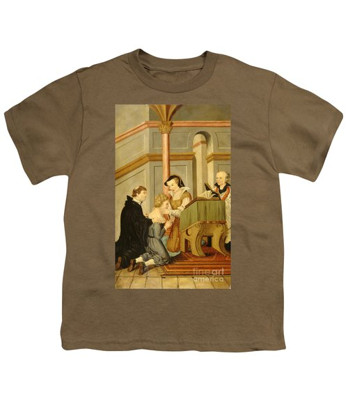 Queen Mary I Curing Subject With Royal Youth T-Shirt