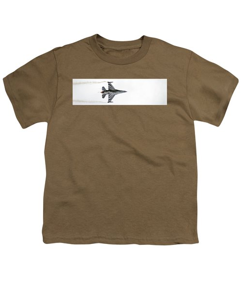 Raf Scampton 2017 - F-16 Fighting Falcon On White Youth T-Shirt