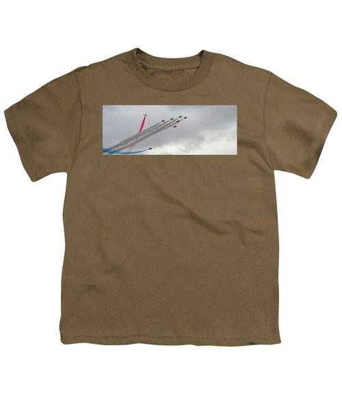 Raf Scampton 2017 - Red Arrows Tornado Formation Youth T-Shirt
