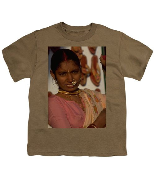 Youth T-Shirt featuring the photograph Rajasthan by Travel Pics