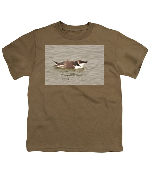 Razorbill Youth T-Shirt by Alan Lenk